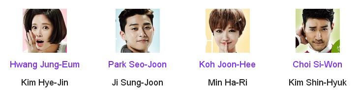 She Was Pretty Korean Drama Cast