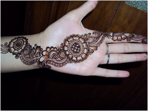 Latest Henna Tattoos For Men
