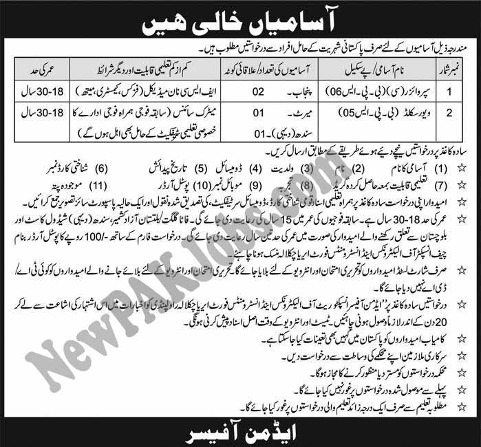 join-pakistan-army-inspectorate-of-electronics-and-instruments-fort-area