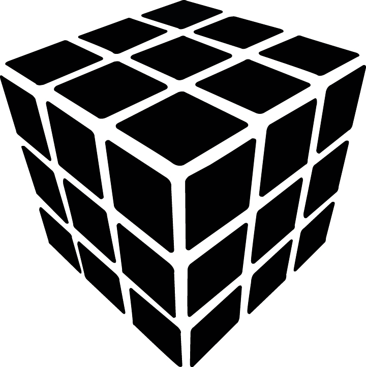 rubix cube vector jakes graphic design