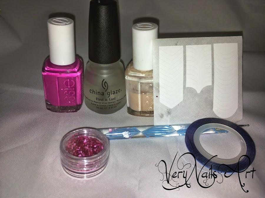 Material Decoración de uñas fácil