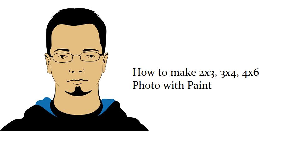 Cara ubah foto 2x3, 3x4, 4x6