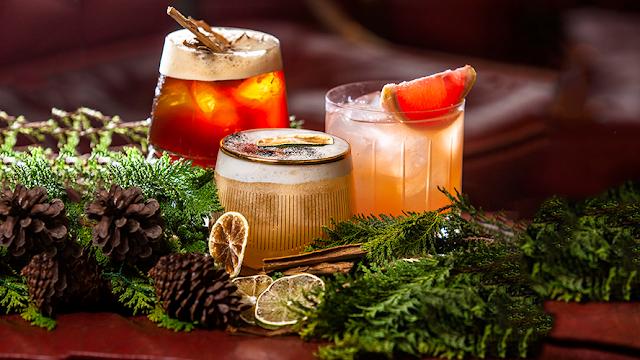 Cocteles para tu cena navideña