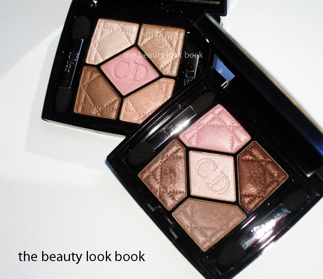 Nude Look Dior Summer 2011 Eyeshadow Palettes In Rosy Nude 534 And Rosy Tan 754 - The Beauty Look Book