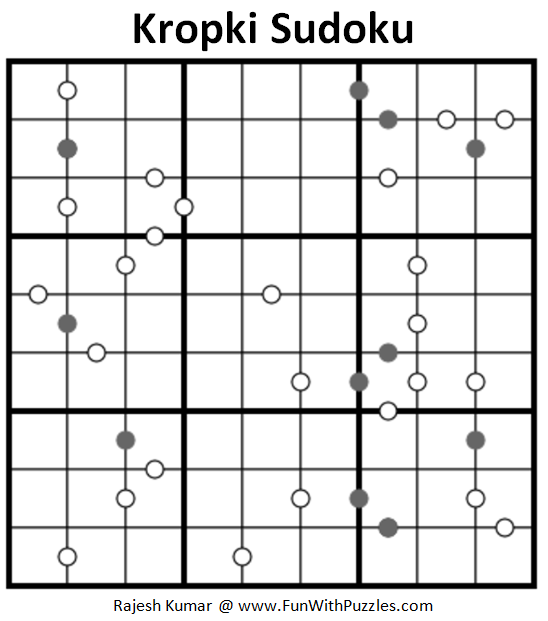 Kropki Sudoku (Fun With Sudoku #219)