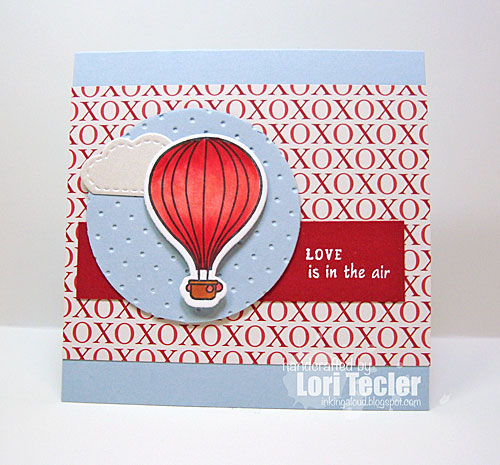 Love Is in the Air card-designed by Lori Tecler/Inking Aloud-stamps and dies from Clear and Simple Stamps