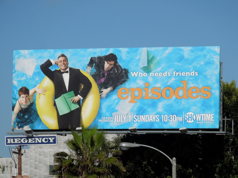 Episodes season 2 Matt LeBlanc billboard
