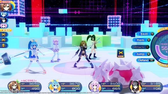 Superdimension Neptune VS Sega Hard Girls PC Free Download Screenshot 2