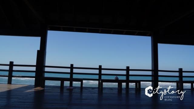 台鐵新埔車站-海邊