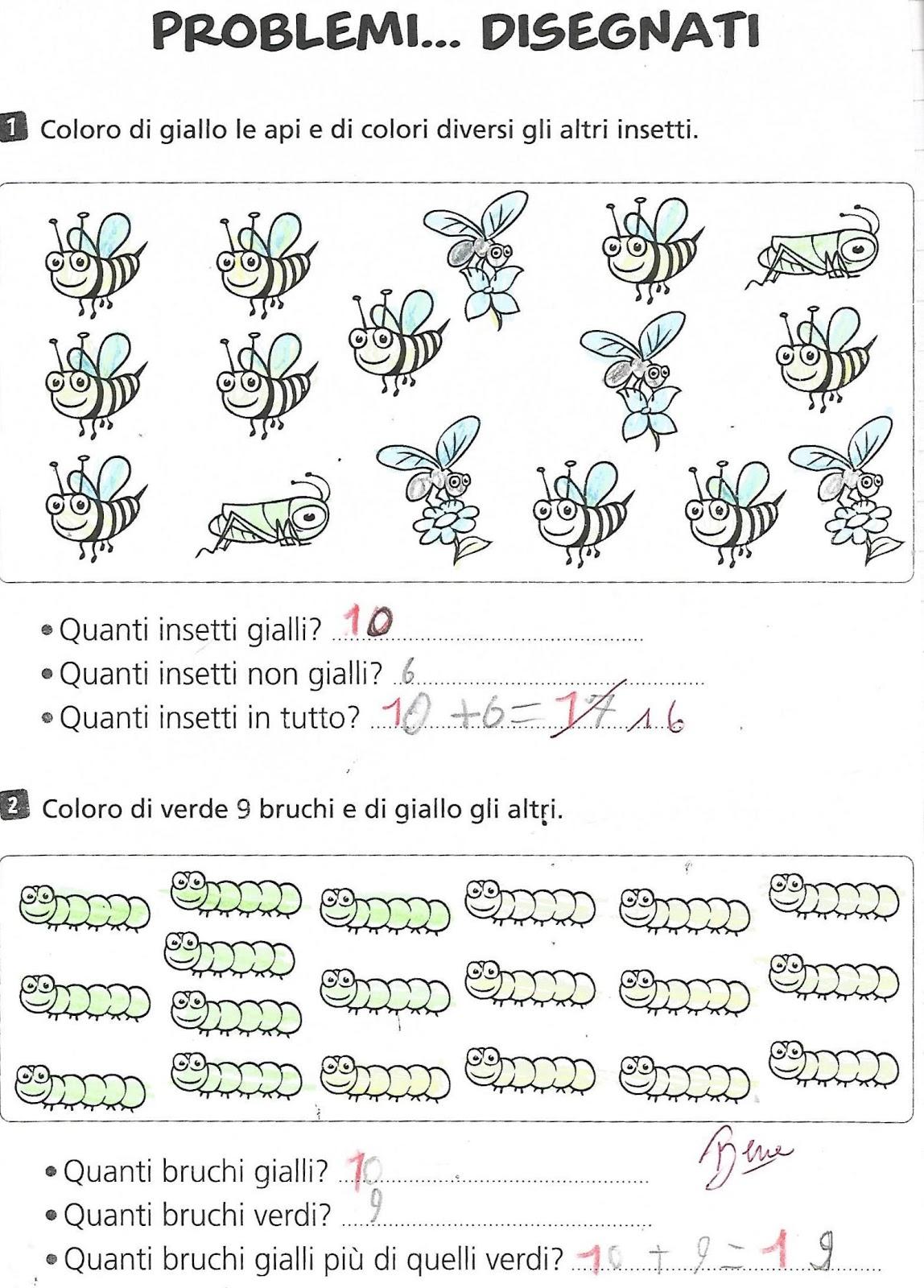 Problemi con illustrazione per la classe prima della ...