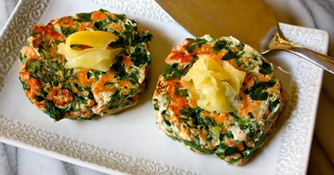 Happy Healthy Smart Spinach Salmon Patties