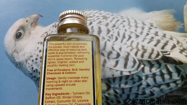 Aura Vedic Skin Lightening Oil:  Ingredients, Price, Packaging & Online avaiability