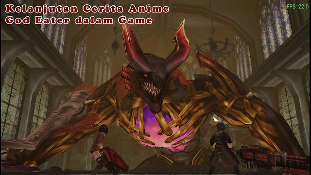 Kelanjutan Cerita Anime God Eater Dalam Game