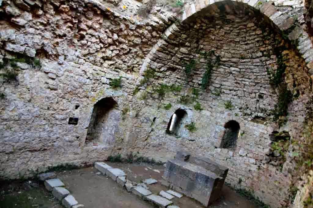 Capilla del castillo de Peyrepertuse
