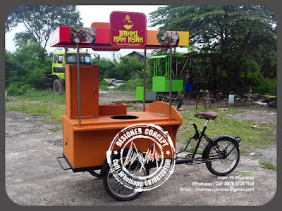produksi gerobak sepeda bakso