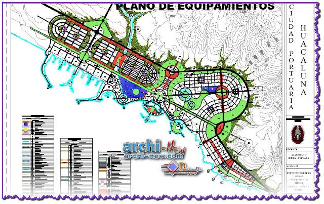 Download AutoCAD DWG  file FINAL EQUIPMENT port city