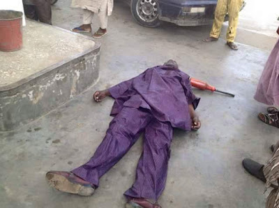 Man Dies While Trying To Purchase Fuel At A Filling Station In Kano. Photo 1