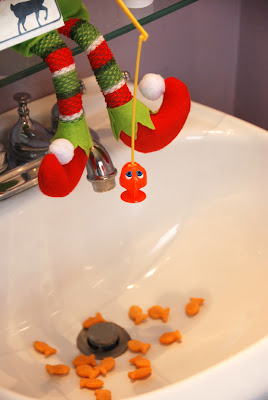elf on the shelf advent bible study going fishing