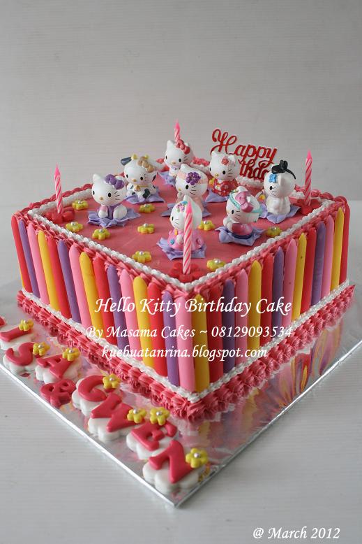 Masama Cakes Hello Kitty Birthday Cake For Gwen Luisa S