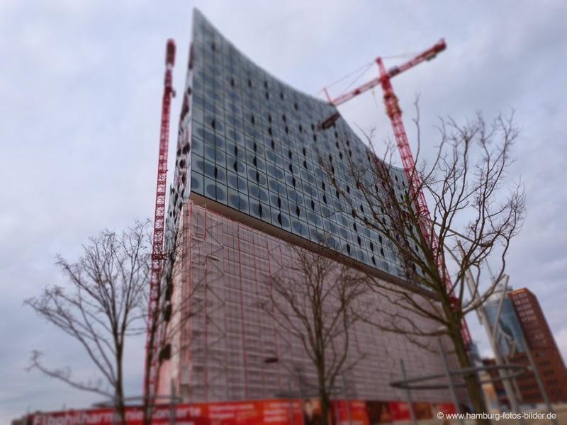 Elbphilharmonie Hamburg Baustelle im Februar 2014