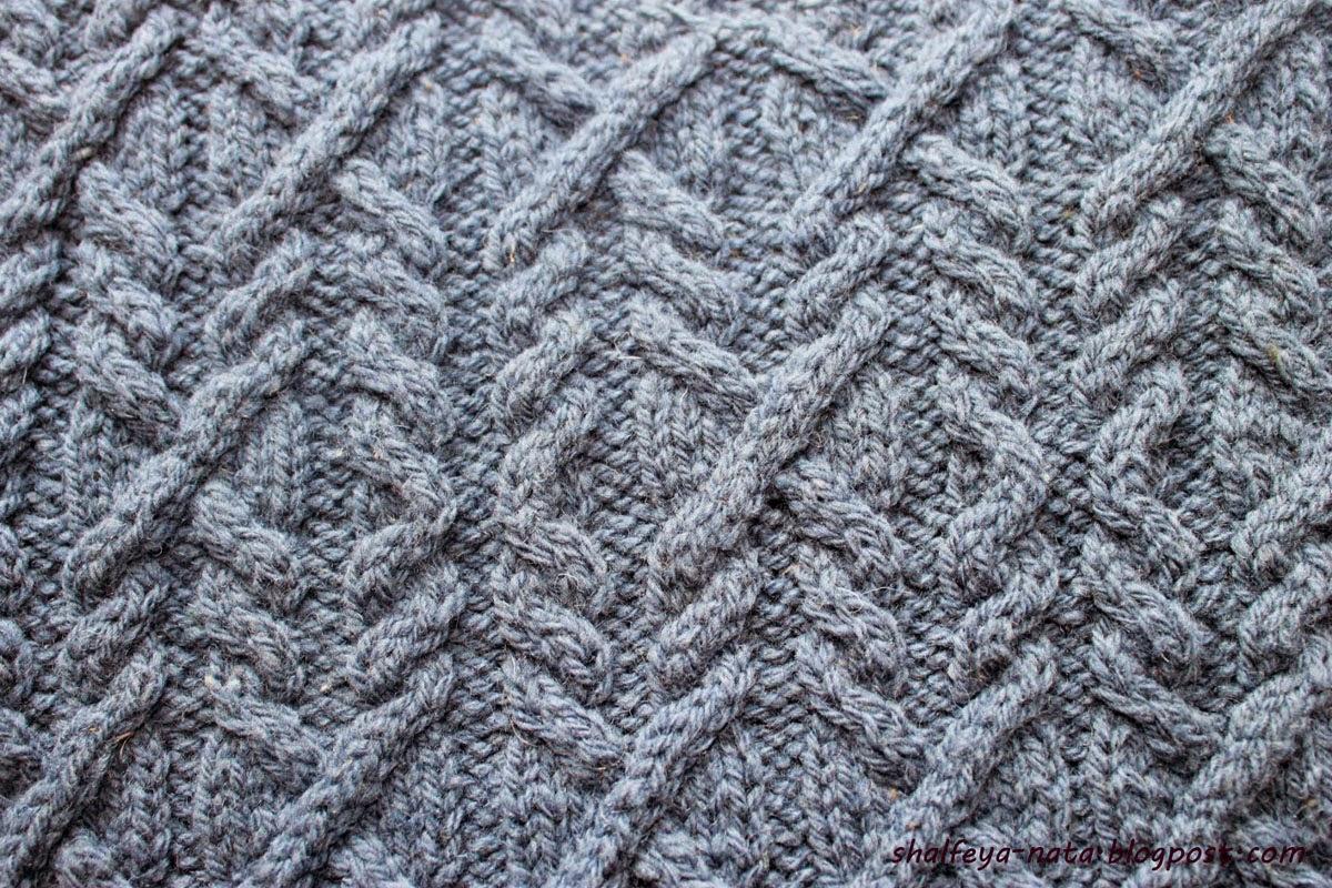 узор для вязания спицами, образец