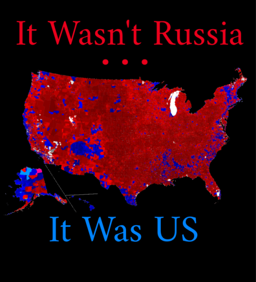 Not Russians but Us