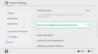 Nintendo Switch Blown Speaker