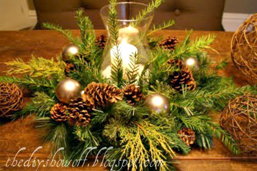 Diy Project Parade And Holiday Centerpieces