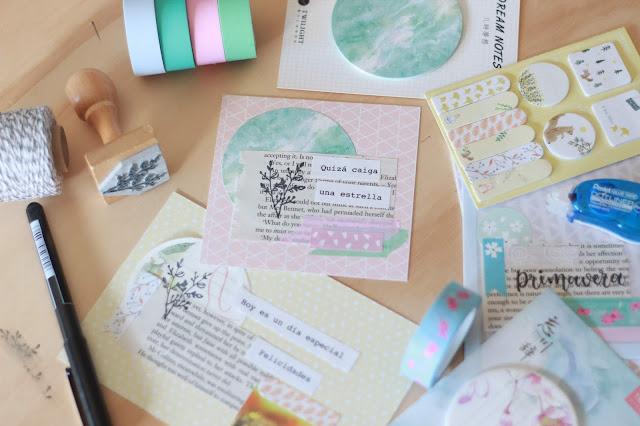 DIY: Cómo crear tus propias tarjetas y marcapáginas desde cero