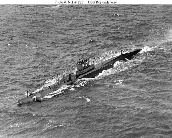 USS R-2 (SS-79) 16 June 1941 worldwartwo.filminspector.com