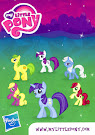 My Little Pony Wave 6 Minuette Blind Bag Card