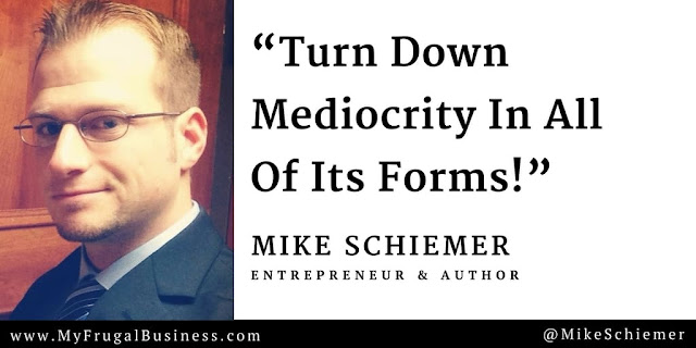 Mike Schiemer Michael J Schiemer quotes bootstrap business