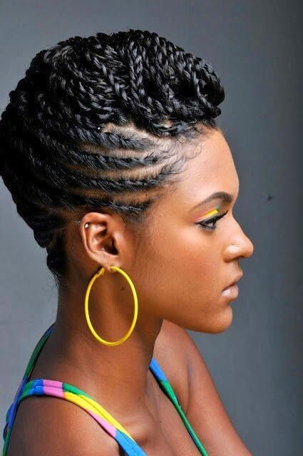 La Moda En Tu Cabello Modernos Peinados 2016 Africanos