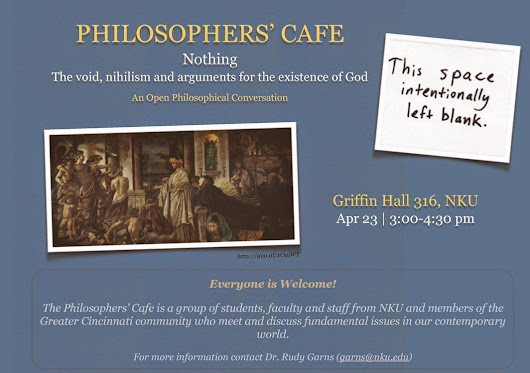 Philosophers' Cafe Topic: Nothing!
