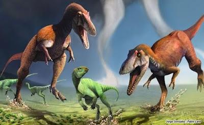 Ditemukan Dinosaurus Baru Miliki Lengan Kecil Seperti T rex