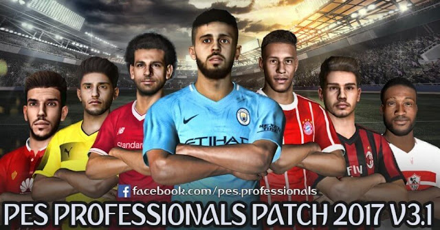 Update Patch PES 2017 dari PES Professionals V3.1
