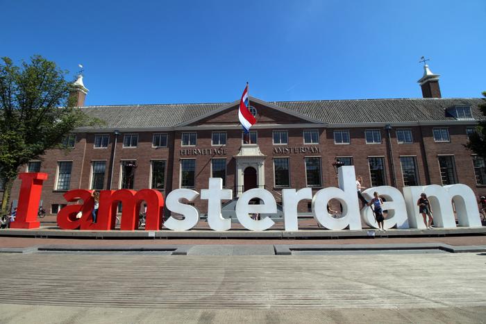 Amsterdam Schriftzug
