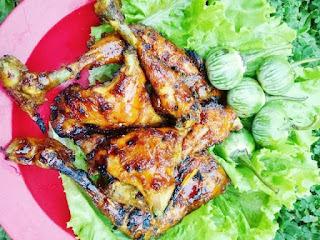 cara membuat ayam bakar saus madu
