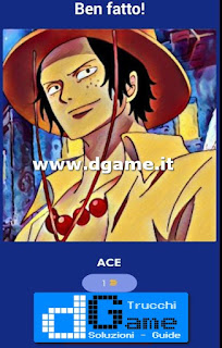 Soluzioni Guess The One Piece Character livello 3