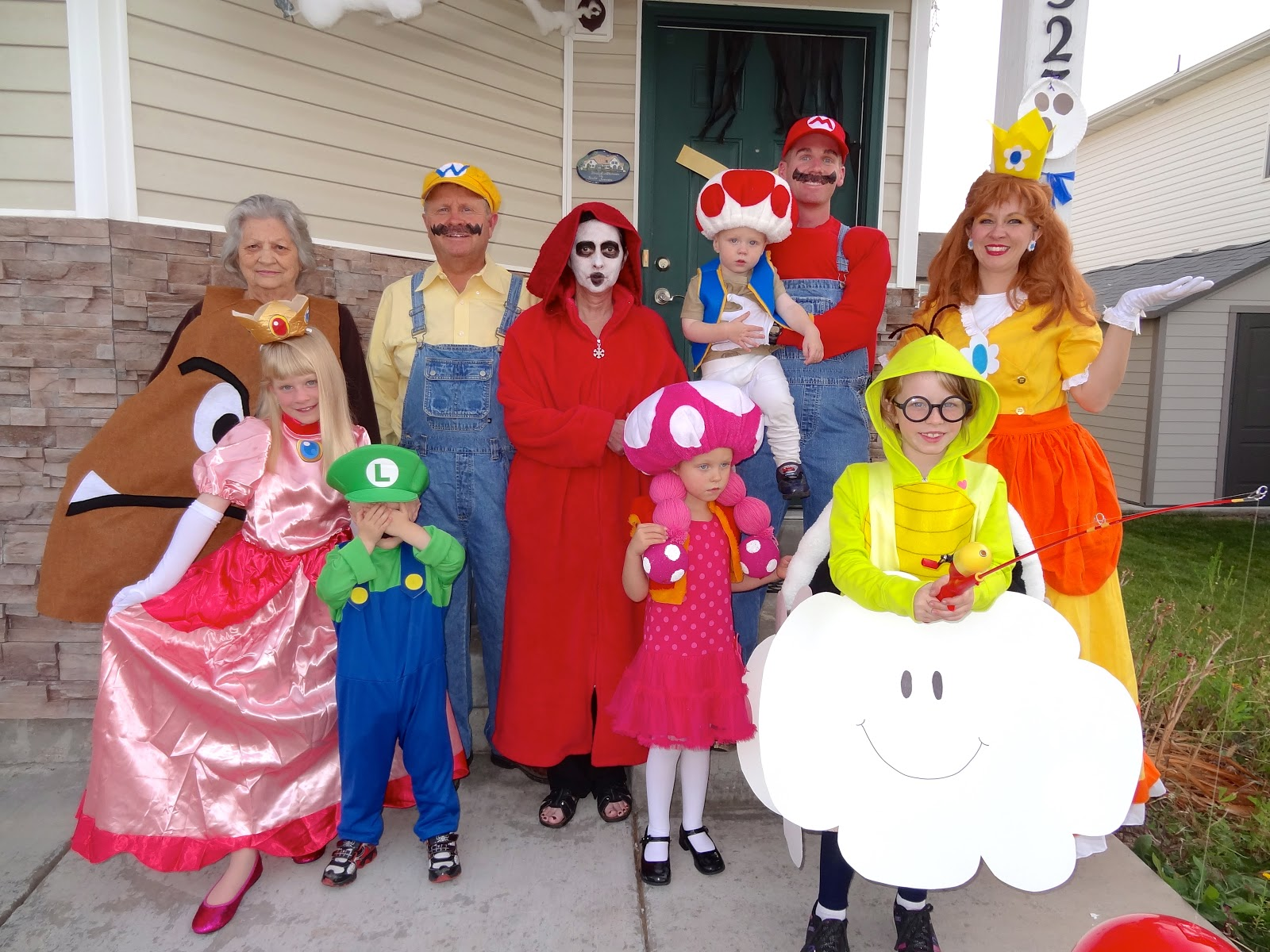 Welcome To The Krazy Kingdom Halloween Carnival Mario Brothers