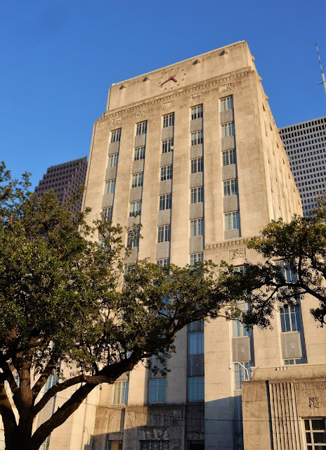 Art Deco City Hall Building (City of Houston) Bagby Street