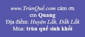 Trùn quế huyện Lắk