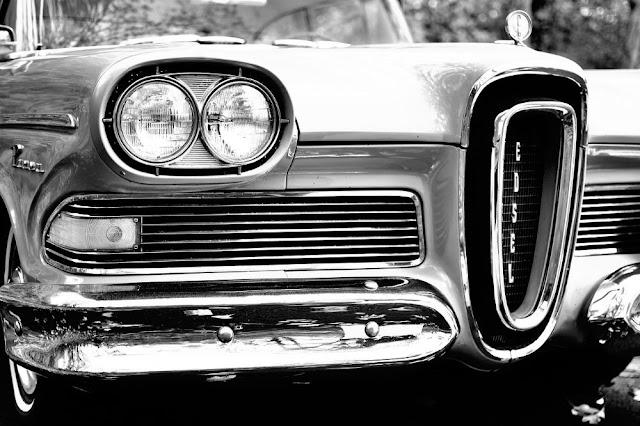 Edsel 1950s American classic car