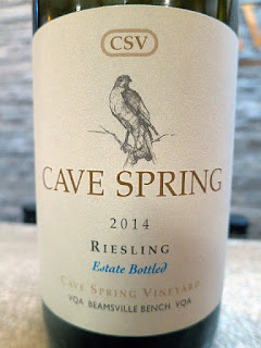 Cave Spring CSV Riesling 2014 - Cave Spring Vineyard, VQA Beamsville Bench, Niagara Escarpment, Ontario, Canada (91 pts)