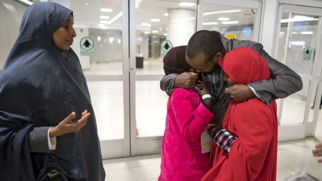More US states challenge Trump travel ban