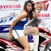 SPG Cantik Motor Yamaha