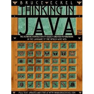 best books for learning java : thinking in  java