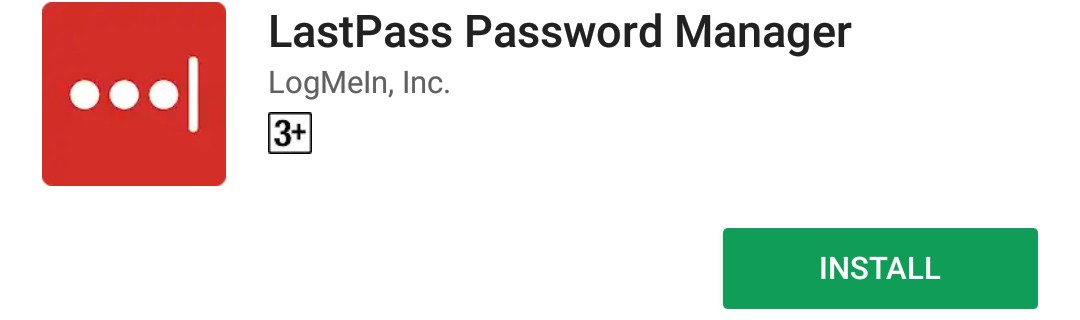 Download LastPass Password manager from Google Play Store