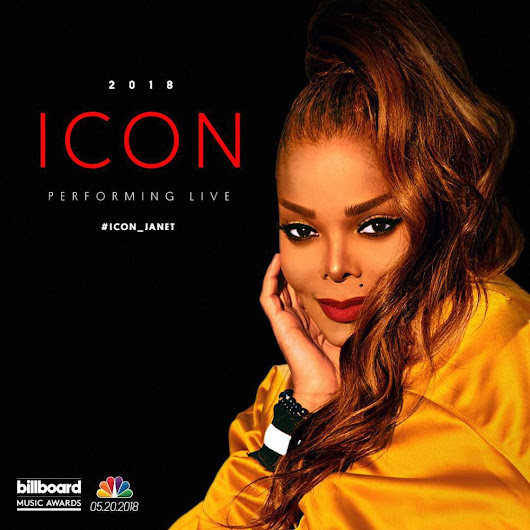 Janet Jackson to Receive The Icon Award at the 2018 Billboard Music Awards! ♛ ♛
