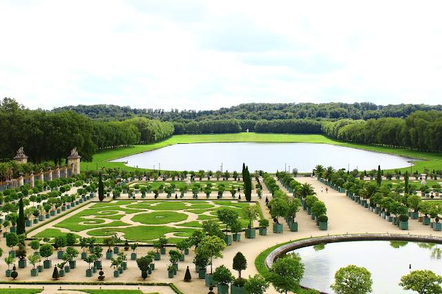 法國巴黎凡爾賽宮花園,橘園